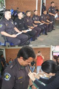 Homenaje Día del Policía Municipal Chuao